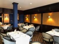 salle du restaurant le jehan à Chartres